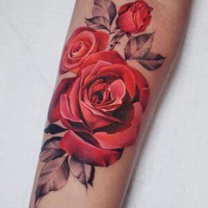 тату розы